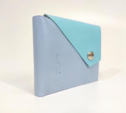 kék pénztárca bőr