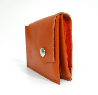 narancs pénztárca bőr